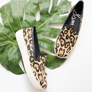Sam Edelman Leoprad Print Slip-on Sneakers